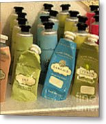 Lotions And Potions Metal Print