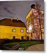 Lotrscak Tower Zagreb Famous Landmark Metal Print