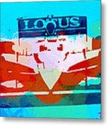 Lotus F1 Racing Metal Print