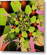 Loud Bouquet Metal Print