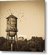 Loudon Water Tower Metal Print