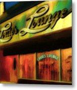 Louie's Lounge Metal Print