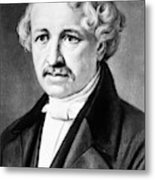 Louis Daguerre (1789-1751) Metal Print