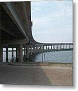 Louisiana Bridge Metal Print
