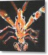 Louisiana Crawfish Metal Print by Katie Spicuzza