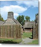 Louisiana Fort Metal Print