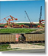 Louisiana Giants Metal Print
