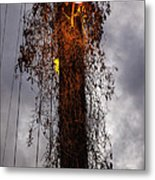 Louisiana Light Post Metal Print