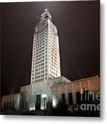 Louisiana State Capitol Building Metal Print