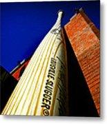 Louisville Slugger Bat Factory Museum Metal Print