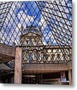 Louvre Museum Paris France Metal Print