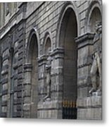 Louvre - Paris France - 011316 Metal Print by DC Photographer