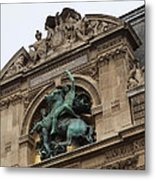 Louvre - Paris France - 011333 Metal Print by DC Photographer
