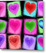 Love All Around  Metal Print by Cindy Edwards
