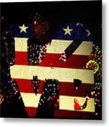 Love American Style Metal Print by Bill Cannon