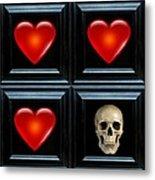 Love And Death II Metal Print