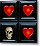 Love And Death Iv Metal Print