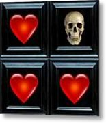 Love And Death V Metal Print