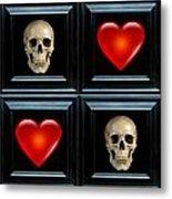 Love And Death Vi Metal Print