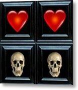 Love And Death Viiii Metal Print