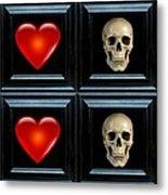 Love And Death Xi Metal Print
