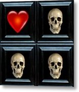 Love And Death Xii Metal Print