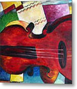 Love And Music Triptych Metal Print
