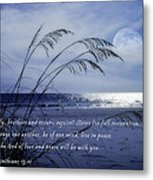 Love And Peace Be With You Metal Print