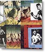 Love And War Roaring 20s Metal Print