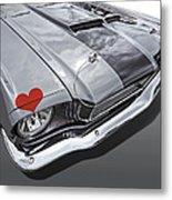 Love At First Sight - '66 Mustang Metal Print