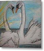 Love Birds Metal Print by Jake Huenink