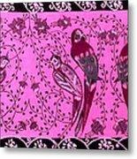 Love Birds Metal Print by Karunita Kapoor