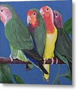 Love Birds Metal Print by Kathy Weidner
