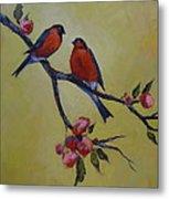 Love Birds Metal Print by Kelley Smith