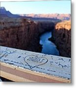 Love From Above On The Navajo Metal Print