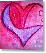 Love Heart 3 Metal Print