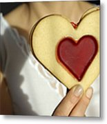 Love Heart Valentine Metal Print