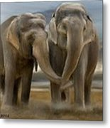 Love In All Sizes Metal Print