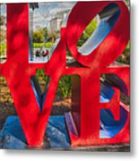 Love In City Park New Orleans Metal Print