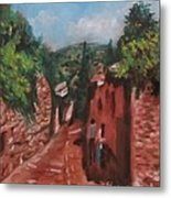 Love In Fiesole Florence Italy Metal Print