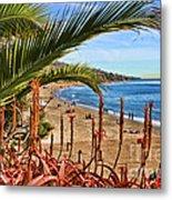 Love In Laguna Beach By Diana Sainz Metal Print