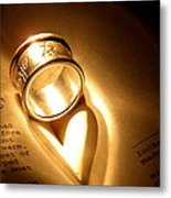 Love In Pages Metal Print