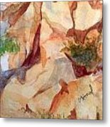 Love In The Rocks Medjugorje 2 Metal Print