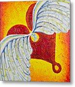 Love Is Taking Flight Metal Print