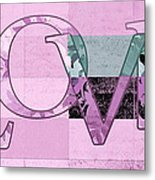 Love - J249115131t-grape Metal Print