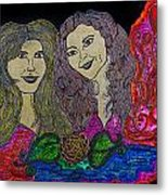 Love Ladies Metal Print