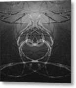 Love Life And Science Metal Print