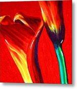 Love Lilies Metal Print