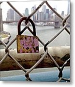 Love Lock Metal Print