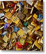 Love Locks Eternal Metal Print